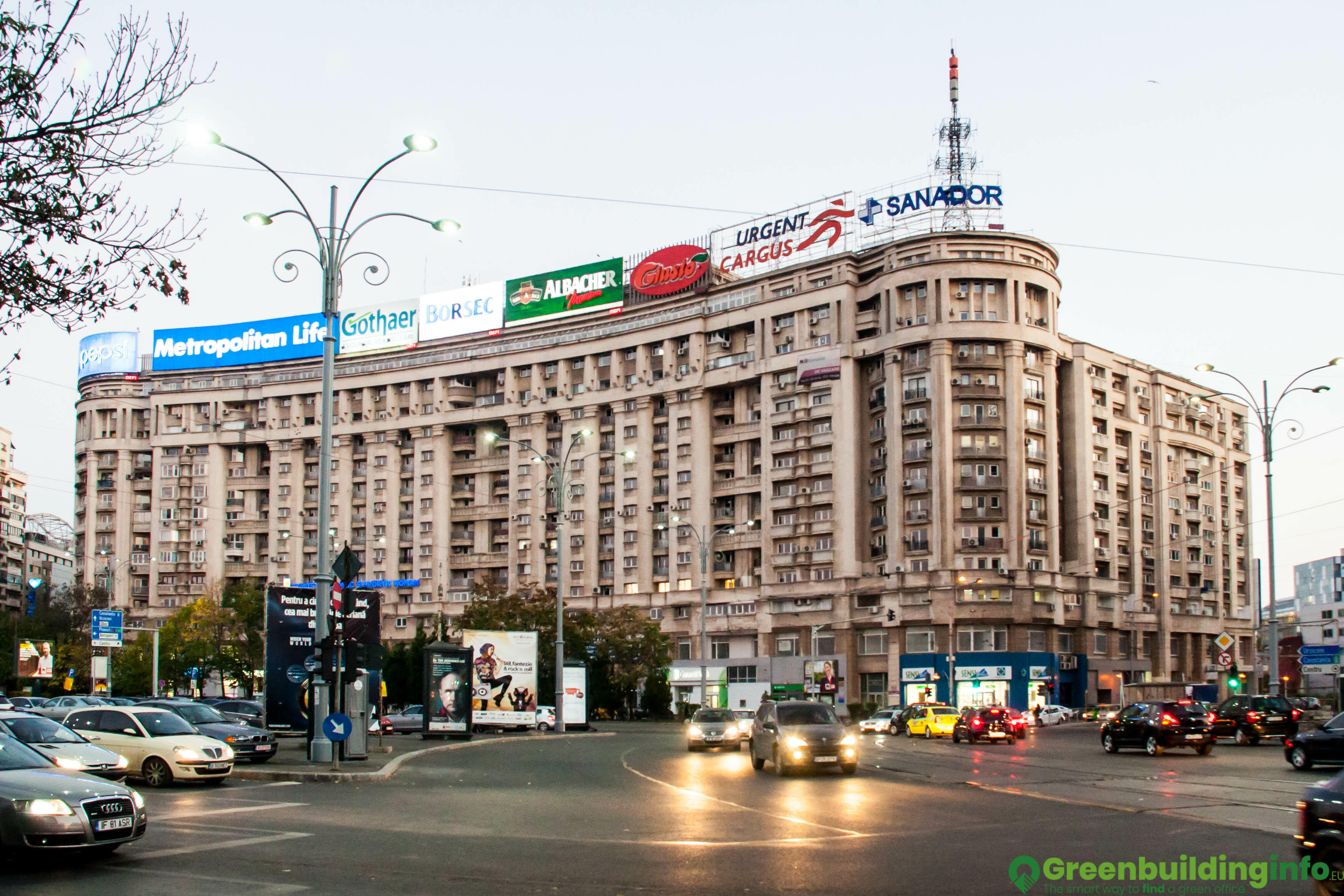 Office for rent in victoria business center calea victoriei 155
