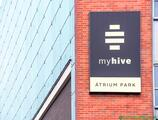 Offices to let in myhive Átrium Park