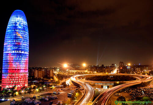 Offices to let in Torre Agbar