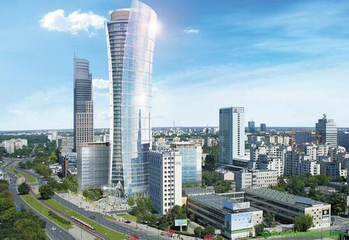 Offices to let in Warsaw Spire